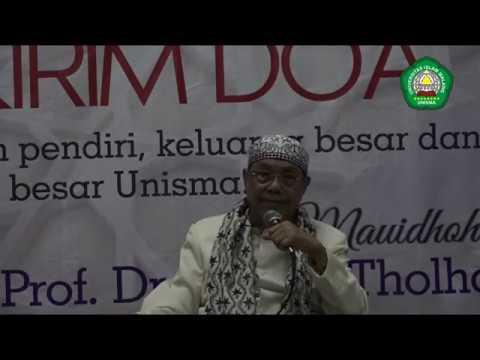 Full Ceramah Prof. Dr. KH. M. Tholhah Hasan (Menteri Agama Era Gus Dur) saat Haul Akbar Unisma