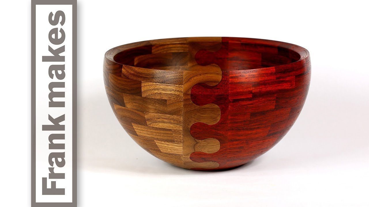 Turned Wood Ring and Jewelry Bowl