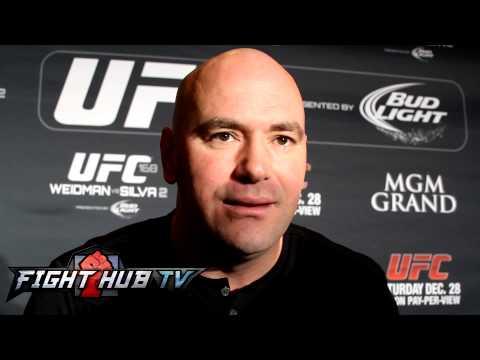 Dana has a message for Ken Shamrock