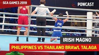 Best Brawl at SEA Games Boxing | Womens Fight | Philuppines vs Thailand | Grabe And Dikdikan Talaga