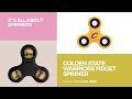 Golden State Warriors Fidget Spinner // It's All About Spinners