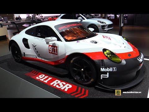 2017 Porsche 911 RSR Racing Car Walkaround 2017 Chicago Auto Show