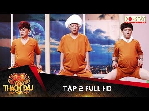 Kỳ Tài Thách Đấu 2017 | Tập 2 Full HD: Việt Hương, Trường Giang, Chí Tài, Trấn Thành (1/10/2017)