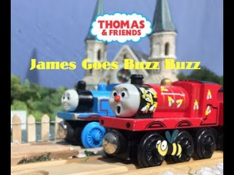 James Goes Buzz Buzz | Thomas & Friends DVD Collab