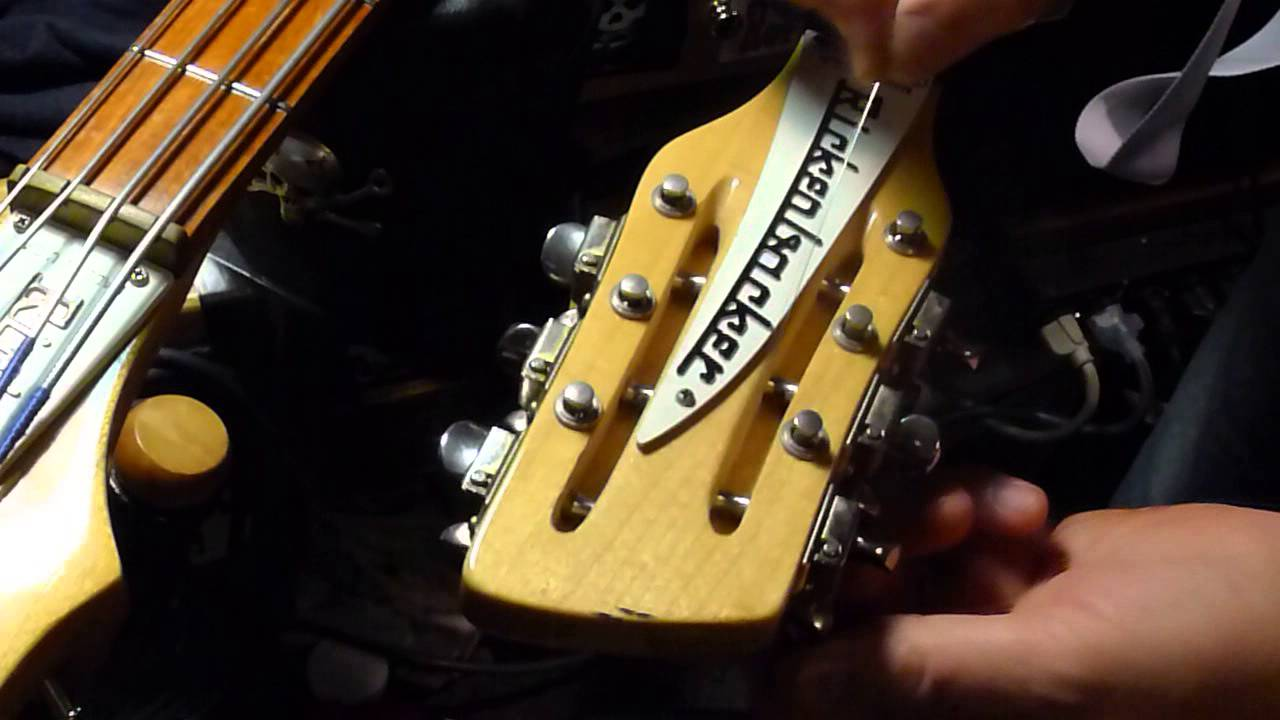 Easy Way To Restring Your Rickenbacker 12 String Guitar Tip By Bill