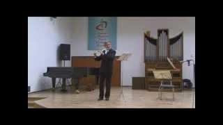 Borislav Yasenov: IV. Bourree anglaise, J. S. Bach Partita a moll, BWV 1013