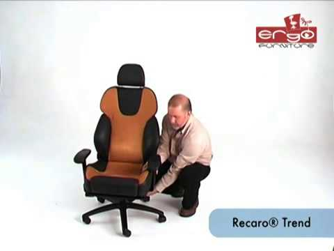 Recaro Trend office chair & Recaro Trend office chair - YouTube