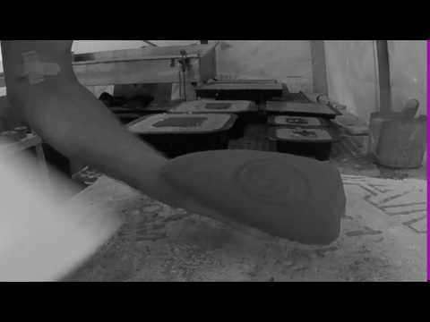 Thin Cast Concrete Casting Dumped in 8 Hours diymolds.com
