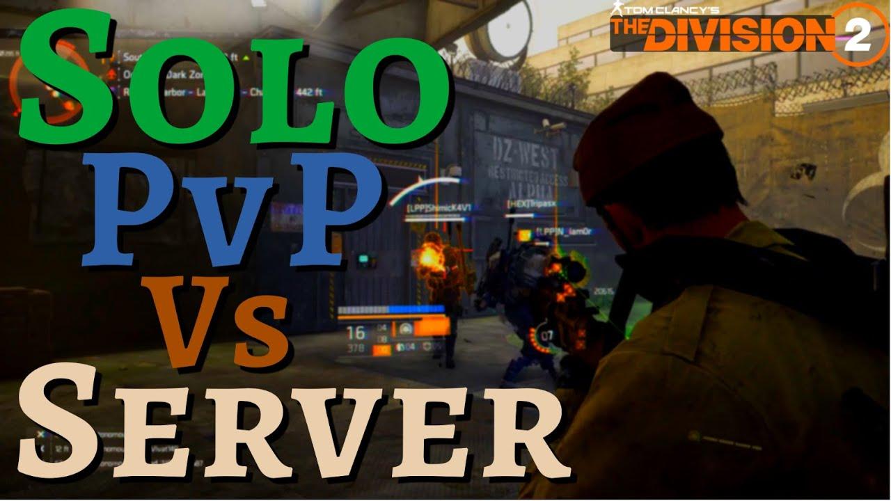 Solo PvP v Server - The Division 2 ODZ PvP - Bloodsucker Build