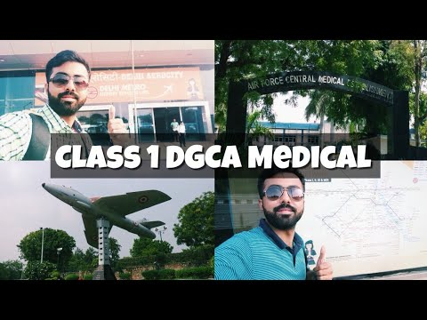 CLASS 1 DGCA MEDICAL | FIRST TWO DAYS | VLOG - 7 | DELHI | AFCME | COMMERCIAL PILOT LICENSE |