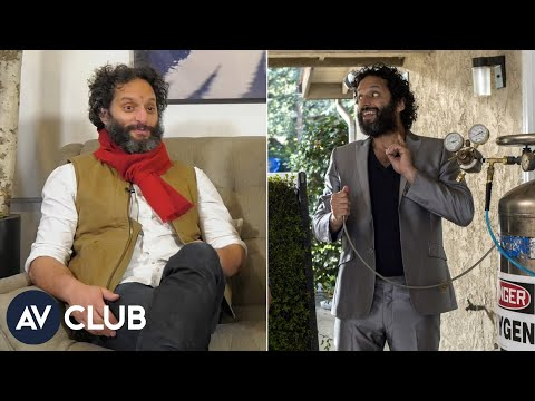 Jason Mantzoukas wants  to know that he's just acting crazy