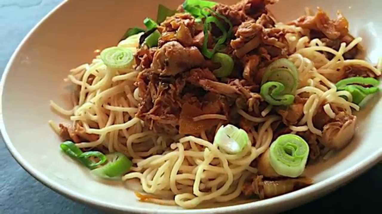 Dish That I Crave: Mie Ayam from Bakmi 99, Jakarta | THE ...