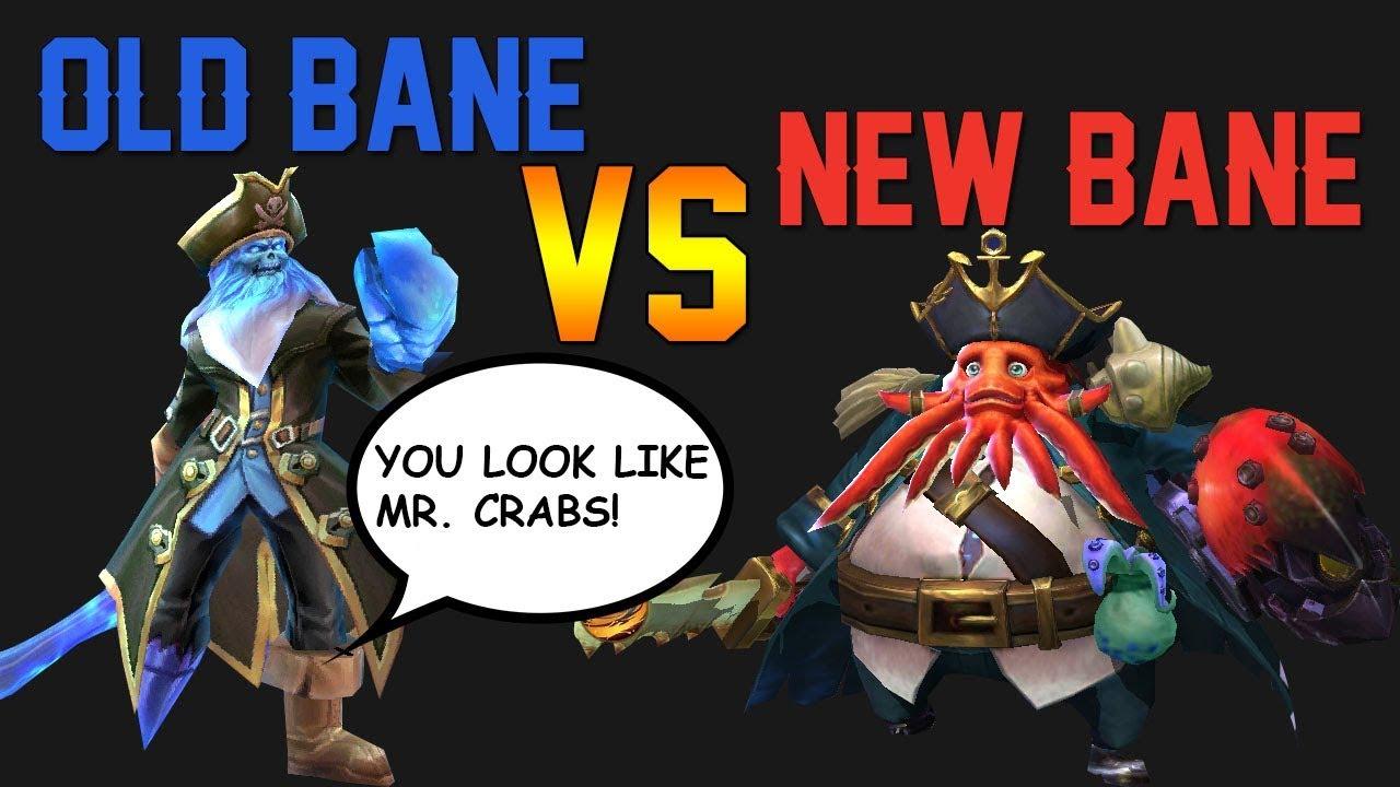 New Bane Vs Old Bane Mobile Legends Youtube