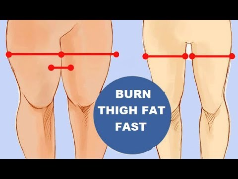 How to Burn Thigh Fat | Simple Exercises To Lose Thigh Fat At Home Fast