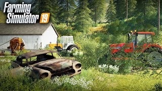 FS19- WE BOUGHT AN ABANDONED FARM! TRACTORS HAVE NOT RAN IN 20 YEARS | EP #1