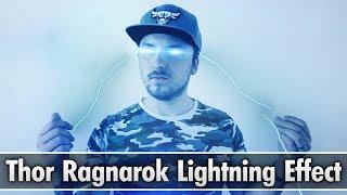 Vegas Pro 15: How To Make a Thor Ragnarok Lightning Effect - Tutorial #338