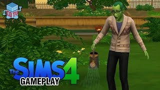 The Sims 4 Gardening and Hacking Gameplay Commentary