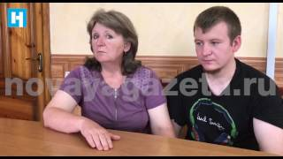 Мама захваченного в плен ефрейтора Виктора Агеева увиделась с сыном в СИЗО