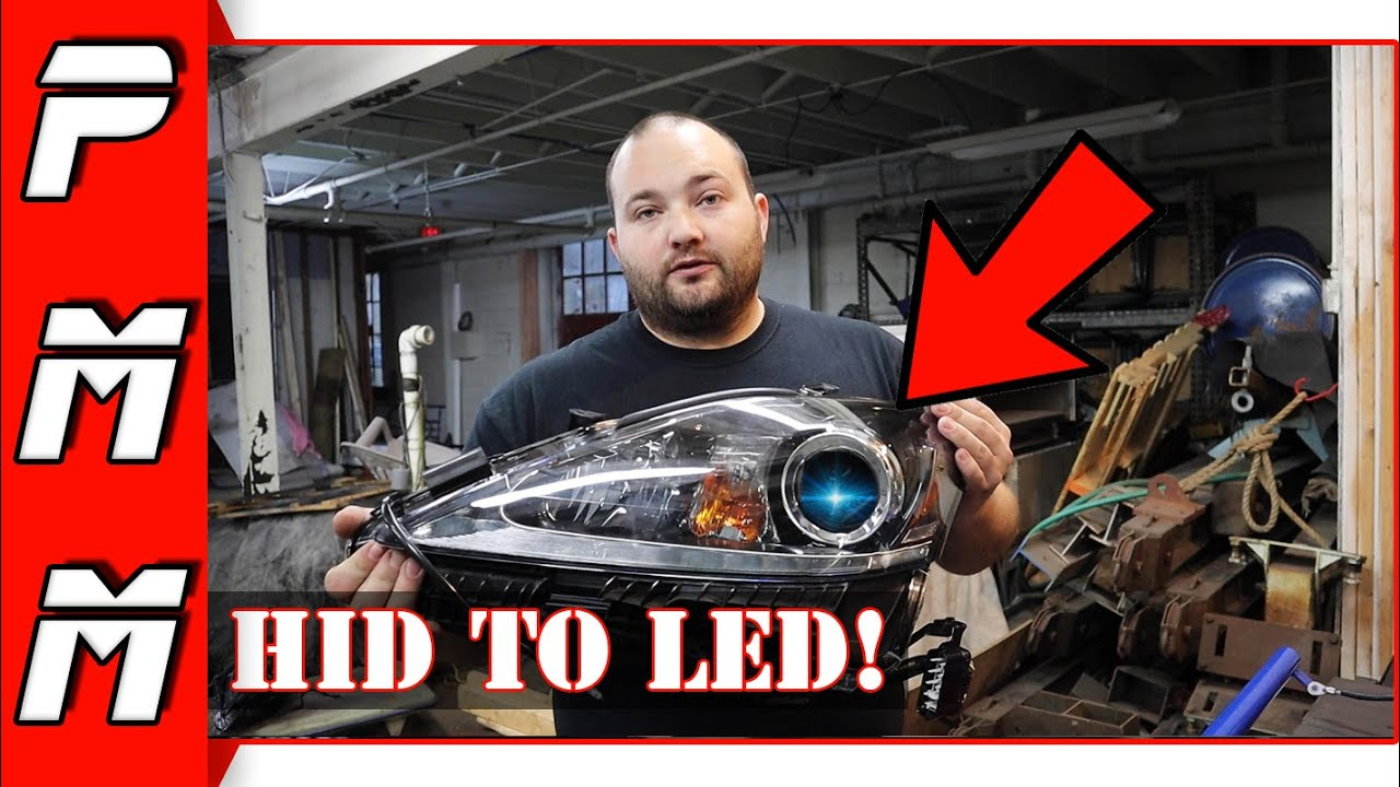 How to convert HID headlights to LED | Lexus IS250 IS300 IS350 ISF