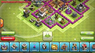 Crazy Base - Let's Play Clash of Clans #024 [Deutsch/German]