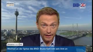 Brexit und U-Ausschuss Silvesternacht: Christian Lindner im Tagesgespräch am 01.07.2016