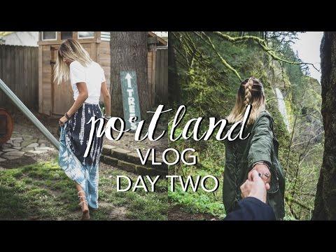 Portland Vlog: Day 2 (Waterfall Road Trip & Wanderlust Feels)
