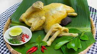 How to boil chicken without water - CKK