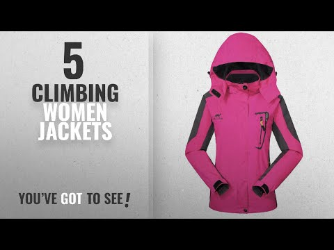 Top 10 Climbing Women Jackets [2018]: Waterproof Ski Jacket Rain coats for Women -GIVBRO Outdoor