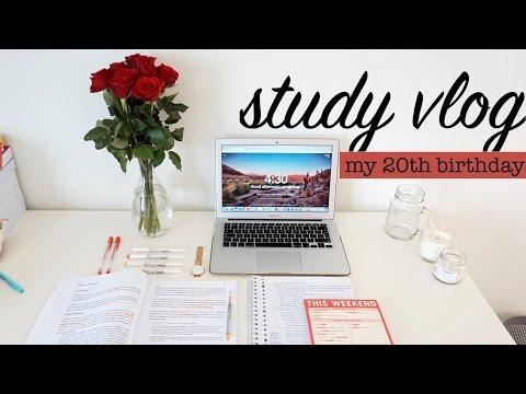 STUDY VLOG 7