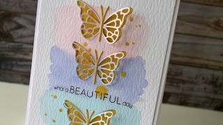 Die Cutting with Memory Box + Watercolor - Know How Friday #9