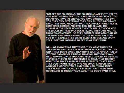 STEPPING OUT OF THE DARKNESS WGeorge Carlin Quote ©60 Awesome George Carlin Quotes
