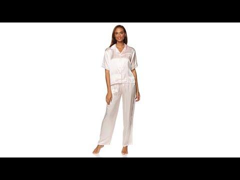 Concierge Collection Platinum Silk Pajamas. http://bit.ly/327kbRO