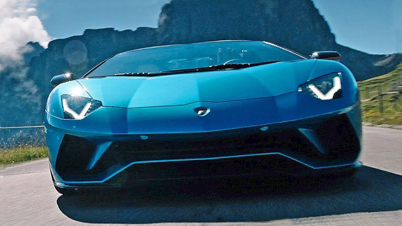 Lamborghini Aventador S Roadster 2018 Features Driving Design
