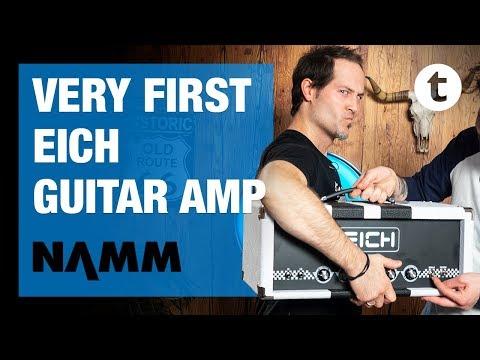 NAMM 2019 | New Eich GT3500 Guitar Amp | Thomann