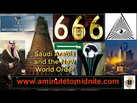 Is Saudi Arabia vying to be Center of a Babylonian New World Order?