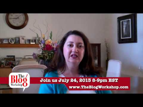 Join Us 07/24/13 For Blogging Laws You Should Know with Sara F. Hawkins