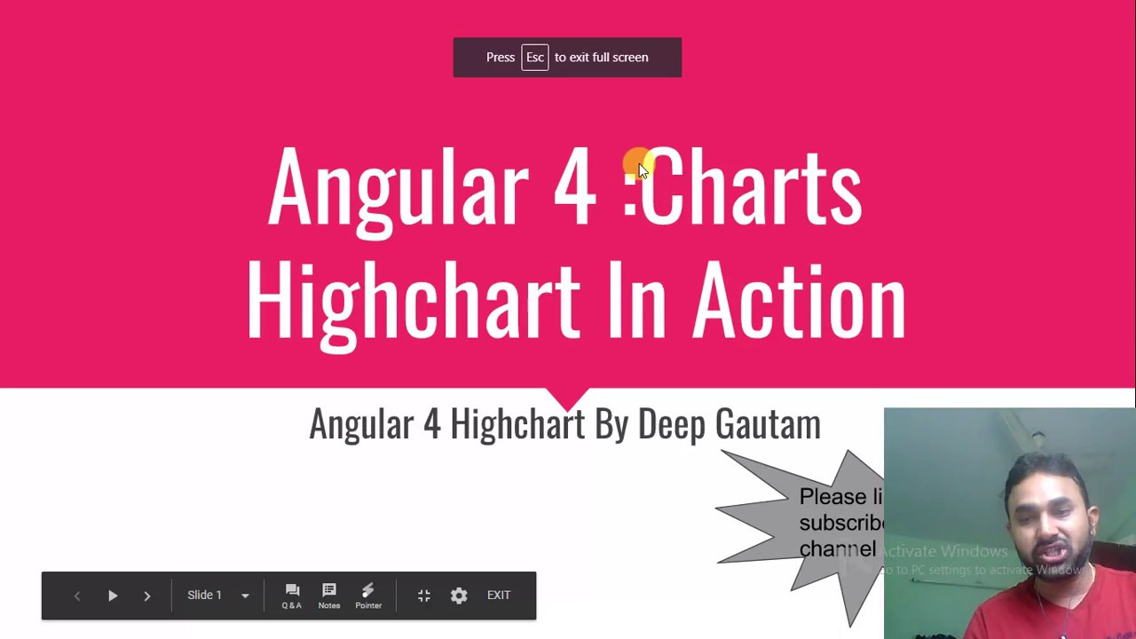How to use highcharts in Angular 4