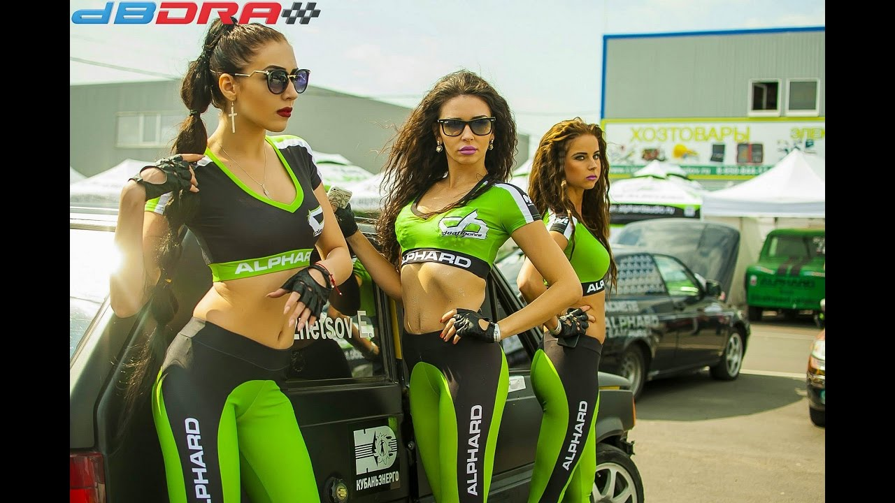 Girls At Car Races