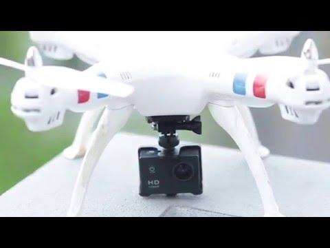 SYMA X8 with sport cam Madagascar review
