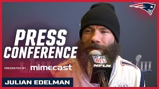 """Julian Edelman on playing in Super Bowl: """"It means the world"""""""