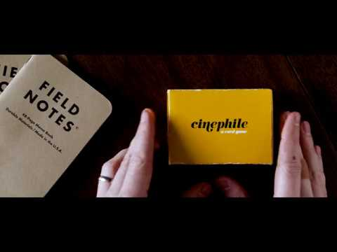"Cinephile: A Card Game presents ""Six Degrees"""