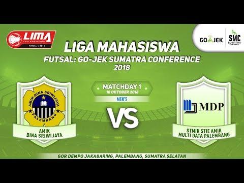 BINAS VS MDP LIMA Futsal : GOJEK SUMATRA CONFERENCE 2018