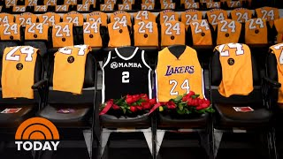 Kobe Bryant And Daughter Remembered In Vanessa Bryant's New Tributes | Today
