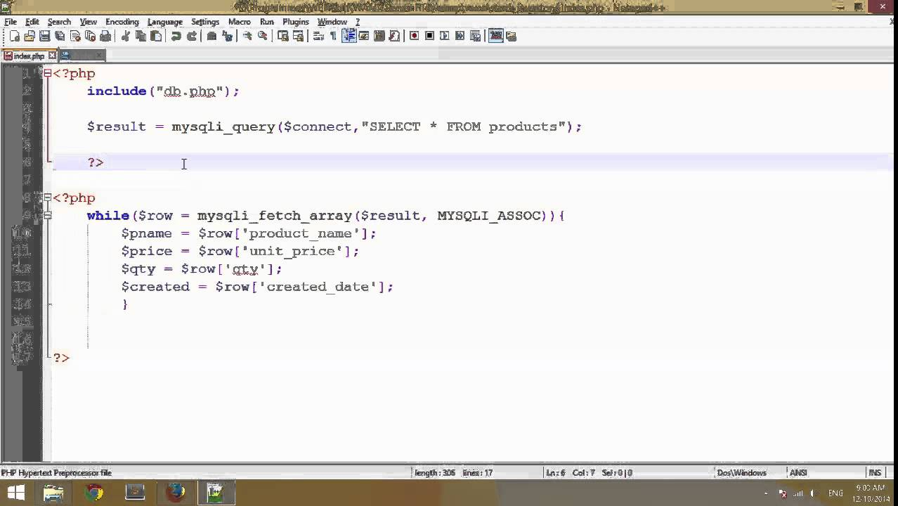 How to Create a Simple Search on MySQL Table using PHP ...