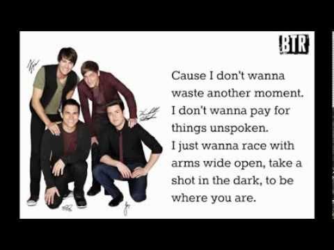 Big Time Rush-Shot In The Dark [Lyrics Studio Version Full Song!]
