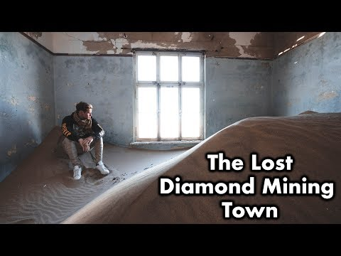 Exploring a Lost DIAMOND MINING TOWN! - Exploring With Cody