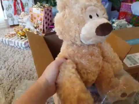 Gund Philbin 18' Teddy Bear Stuffed Animal, Nice bear, curly rather than 'plush' fur, and small for