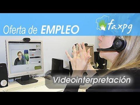 Convocatoria puesto de Intérprete de LSE para servicio de video-interpretación en Sede central