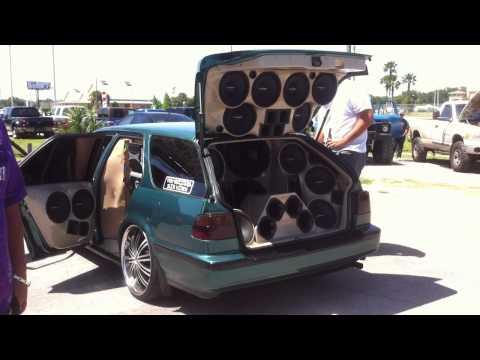 Custom Dodge Ram >> Great sound system, ATR Truck and SUV show - YouTube