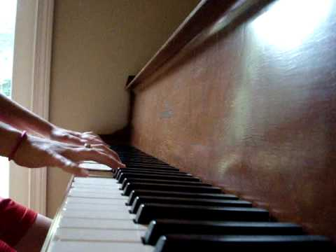 West Wing theme song on piano